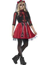 Teen Day Of The Dead Diva Costume Halloween Black Teen Costumes
