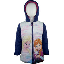 Disney Eiskönigin - Frozen - Wintermantel - Jacke - Blau - Gr.: 92 - 128