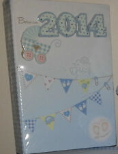 BORN IN 2014 BABY BOY / GIRL  PHOTO ALBUM 3D BABY SHOWERS GIFT CHRISTENNINGS