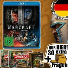 World of Warcraft The Beginning Blu-Ray WoW Film Spiel Game Gesellschaftsspiel