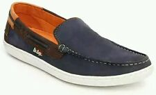 Lee Cooper Men navy blue Leather Loafers - lc1584
