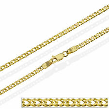 Goldkette Panzerkette Massiv Gold 585 14K Halskette Herren Damen 40 60 cm 2,8mm