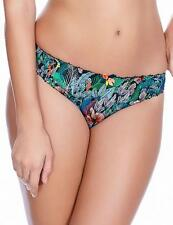 Freya Willow Thong Palm Print 5077 * New Womens Lingerie