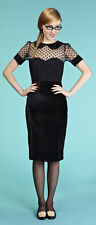 Eucalyptus Clothing Adele Black Fitted Dress. RRP £68. Various Sizes. BNWT.