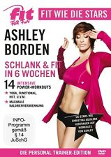 Fit for Fun - Fit wie die Stars - Ashley Borden - Schlank & Fit in 6 Wochen