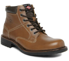 Lee Cooper Men tan n Leather Boots lc9578