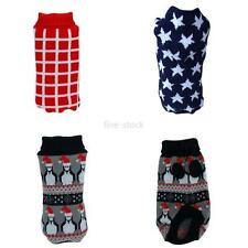 Hot Small Pet Dog Sweater Warmer Clothes Puppy Shirt Winter Jacket Coat Costumes