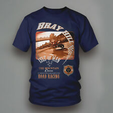 Isola di Man Bray Hill T-Shirt stampata
