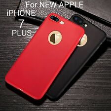 *RICH COLORS*Ultra Thin Soft Silicone Back Cover Case For Apple iPhone 7 Plus *