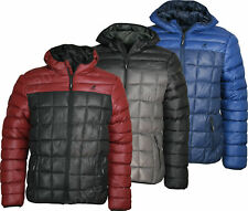 "NEW MENS KANGOL PADDED HOODED PUFFER JACKET ""Rictor"" 3 colours Puffa Bubble Coat"