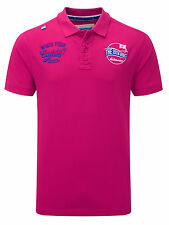 Bunker Mentality Mens Stella's Clubhouse Polo - Hot Pink RRP £55