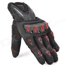 CROSS - Red - Hand Gloves, Car Racing, Motorcycle Riding Full Fingers Gloves