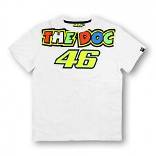 Official Valentino Rossi VR46 Blanco The Doctor 2015 camiseta - VRMTS 152206