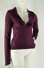 Top Maglia Donna Blusa  POEMS D036 Made in Italy Tg L