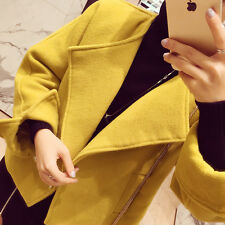 2016 autumn and winter new Korean short paragraph woolen jacket female fragrant