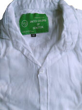 Men White Cotton Shirt Casual