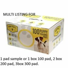 1 100 200 300 DOG PUPPY HOUSE LARGE ABSORBENT TRAINING TRAINER PADS TOILET WEE