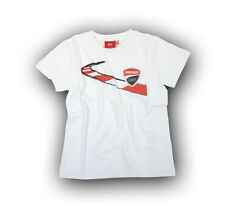 New Official Ducati Corse Kids White T'Shirt