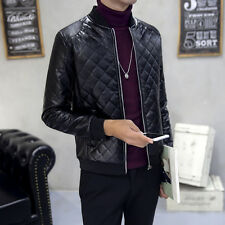 Men 's leather jacket 2016 autumn and winter new wave of young men short
