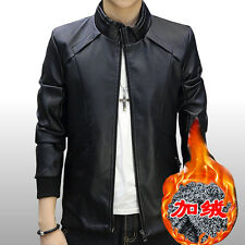 The new male leather jacket jacket Slim short paragraph of men's sheep skin