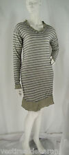 Abito Vestito Donna a Tunica AMAMI Midi Dress Made in Italy D084 Tg S M M/L