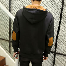 Fashion leisure hooded men 's sweater Korean Slim knit pullovers youth