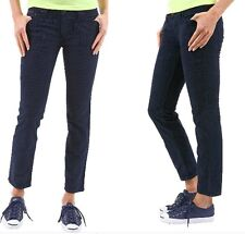 Jeans Donna Pantaloni Velluto SEXY WOMAN B098 Made in Italy Tg L veste M