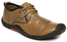 Lee Cooper Men Brown Leather Casual Shoes LC1333