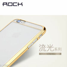 *Rock*Neon Series Protective Chrome Back Bumper Case Cover For Apple iPhone 6***