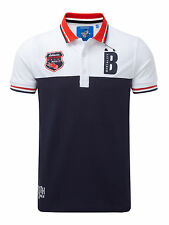 Bunker Mentality Mens GF- TS Polo Clubhouse Polo - Navy RRP £50