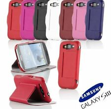 PU Leather Stand Case Cover For Samsung Galaxy S3 SIII i9300