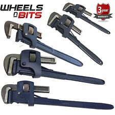"10"" 12"" 14"" 18"" 24"" Inch Standard Stilsons Pipe Wrench Drop Forged Adjustable"