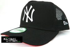 NEW ERA RUBBER LOGO TRUCKER CHILDS/YOUTH 9FORTY ADJUSTABLE CAP - NY YANKEES