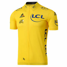 Le Tour de France - Maillot Jaune Tour de France Coq Sportif Officiel  - Jaune