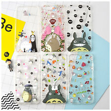 Studio Ghibli MY NEIGHBOR TOTORO Clear Soft Phone Case Cover iPhone 6/6s & Plus