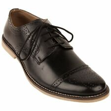 FBT Men's 12670 Black Brogue Formal Shoes
