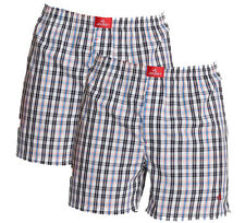 Jockey Checked Boxer Shorts - Assorted Pack of 2