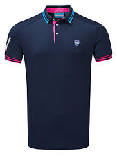 Bunker Mentality Mens CMax Events Polo - Navy