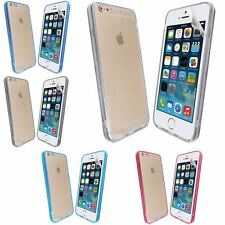 SILICONE ULTRA SOTTILE ACRILICO TRASPARENTE custodia COVER per iPHONE 6+ Plus