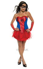 Ladies Spider Girl Costume Ladies Red TV and Film Costumes