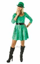 The Riddler Ladies Costume Ladies Green TV and Film Costumes