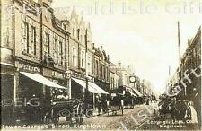 Dublin Kingstown Lower George's Street Old Irish Photo Size Selectable