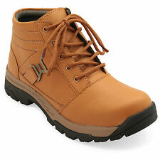 FBT Men's 15570 Tan Mid Ankle Casual Shoes