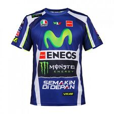 UFFICIALE VALENTINO ROSSI VR46 REPLICA Leather's UOMO T Shirt - ydmts 214309