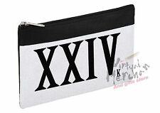 CASO XXIV 24K MAGIC BRUNO MARS LOGO NECESER toilet bag ITALY