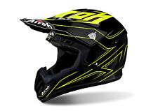 AIROH CASCO INTEGRALE OFF ROAD CROSS ENDURO SWITCH SPACER YELLOW GLOSS