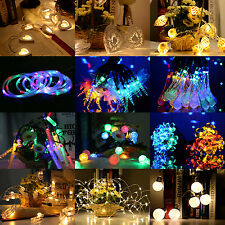 LEDs Warm White Christmas String Fairy Lights In/Outdoor Xmas Tree Party