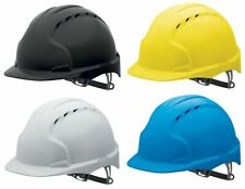 JSP AJF160 EVO3 mid-peak ventilated safety helmet variety of colours