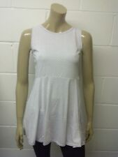 Womens Skater Pleated Dress White Small Black Polka Dot Size 10 to 14 Ladies