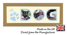 My Dog Personalised Photo Frame by Photos in a Word, Gift for Children